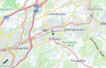 Stadtplan Schwelm