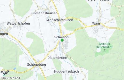 Stadtplan Schwendi