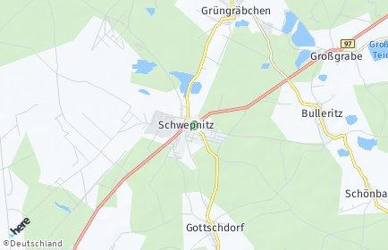 Stadtplan Schwepnitz