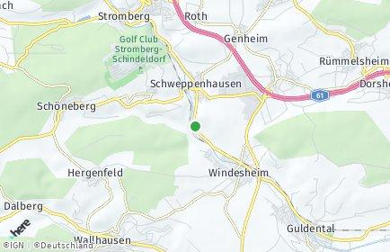 Stadtplan Schweppenhausen