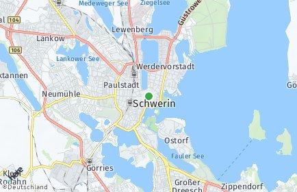 Stadtplan Schwerin