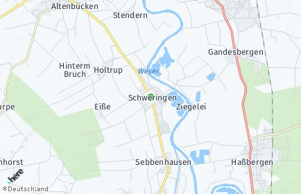 Stadtplan Schweringen
