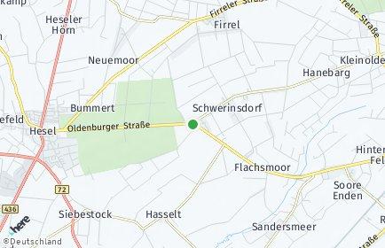 Stadtplan Schwerinsdorf