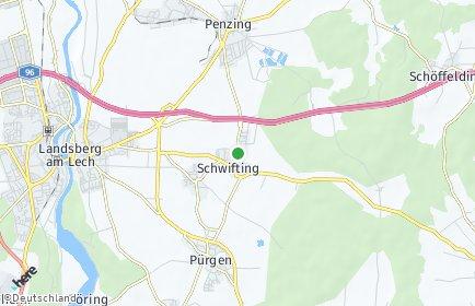 Stadtplan Schwifting