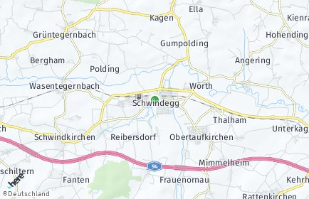 Stadtplan Schwindegg