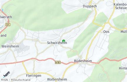 Stadtplan Schwirzheim