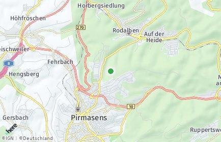 Stadtplan Südwestpfalz