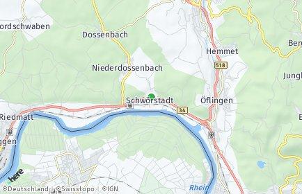 Stadtplan Schwörstadt