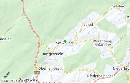 Stadtplan Schwollen