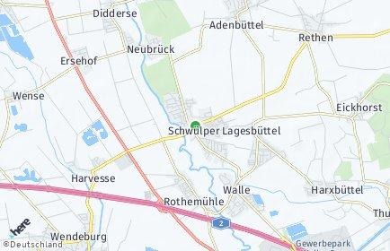 Stadtplan Schwülper