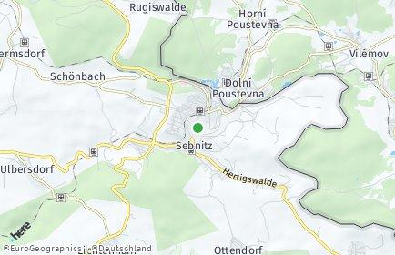 Stadtplan Sebnitz
