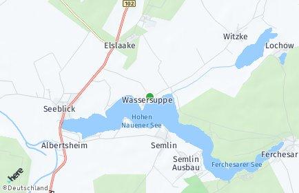 Stadtplan Seeblick