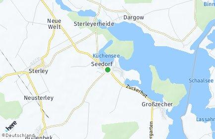 Stadtplan Seedorf (Lauenburg)