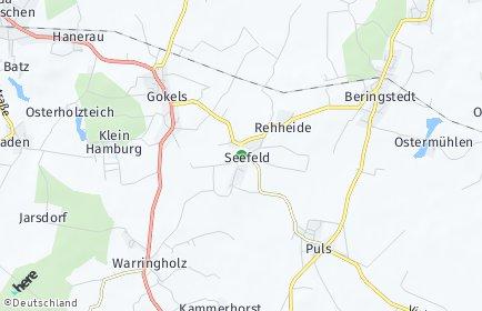 Stadtplan Seefeld (Holstein)