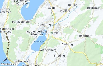 Stadtplan Seefeld (Oberbayern)