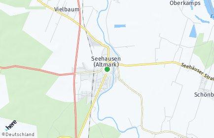 Stadtplan Seehausen (Altmark)