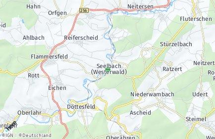 Stadtplan Seelbach (Westerwald)