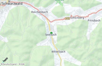 Stadtplan Seelbach (Schutter)