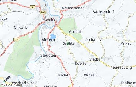 Stadtplan Seelitz