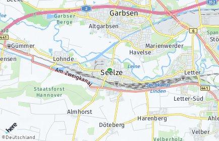 Stadtplan Seelze OT Letter