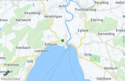 Stadtplan Seeon-Seebruck OT Burgham