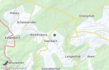 Stadtplan Seesbach