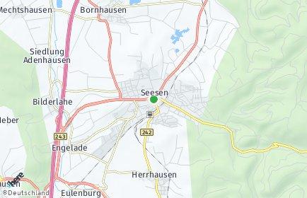Stadtplan Seesen