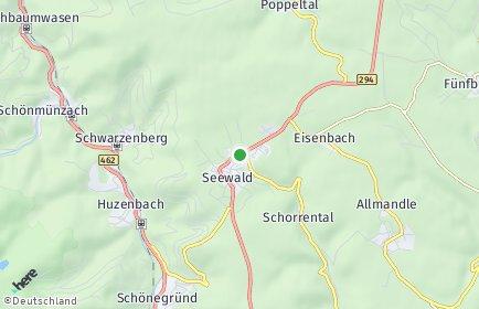 Stadtplan Seewald