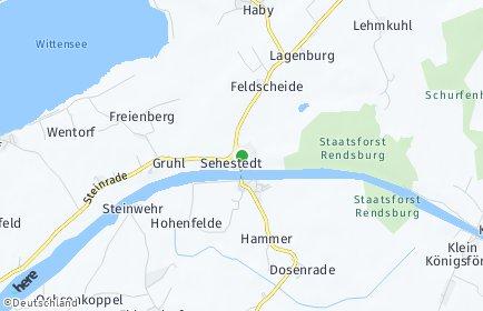Stadtplan Sehestedt