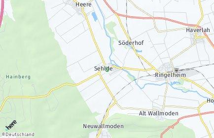 Stadtplan Sehlde