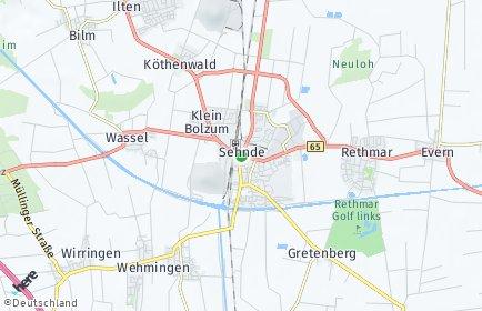 Stadtplan Sehnde