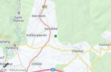 Stadtplan Seinsfeld