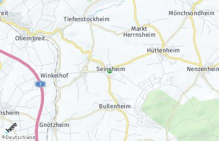 Stadtplan Seinsheim
