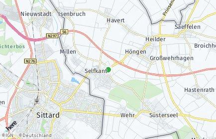 Stadtplan Selfkant