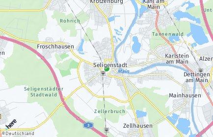 Stadtplan Seligenstadt