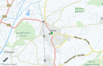 Stadtplan Selm