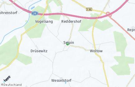 Stadtplan Selpin