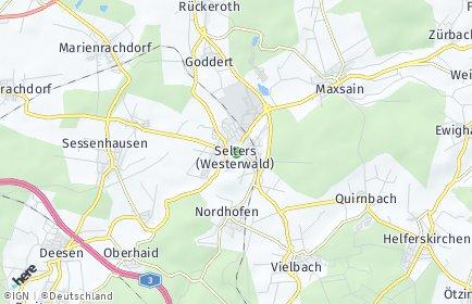Stadtplan Selters (Westerwald)