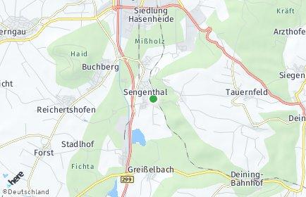 Stadtplan Sengenthal OT Sengenthal