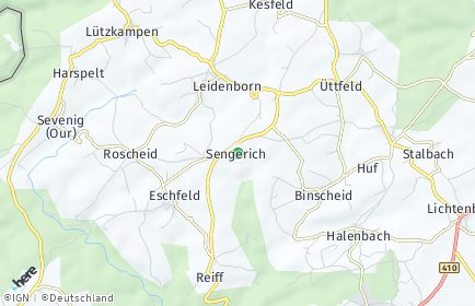 Stadtplan Sengerich