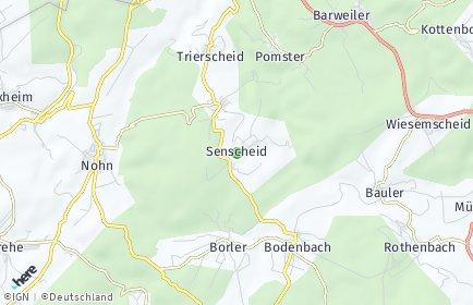 Stadtplan Senscheid
