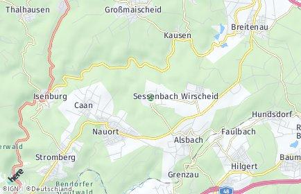 Stadtplan Sessenbach