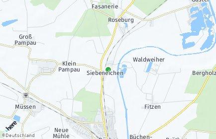 Stadtplan Siebeneichen