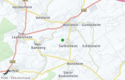Stadtplan Siefersheim