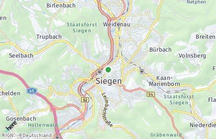 Stadtplan Siegen