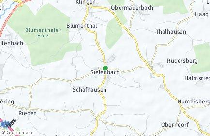 Stadtplan Sielenbach