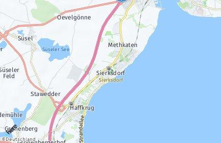 Stadtplan Sierksdorf