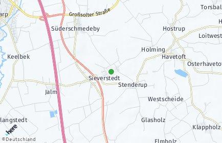 Stadtplan Sieverstedt