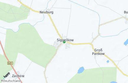 Stadtplan Siggelkow