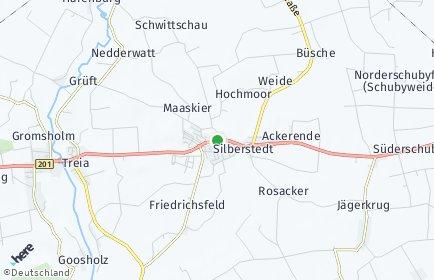 Stadtplan Silberstedt